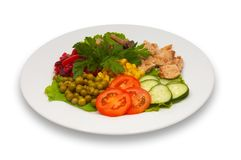 Mixed salad 2 Royalty Free Stock Photos