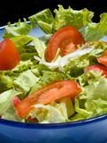 Mixed salad. Triple color mixed salad Royalty Free Stock Photography