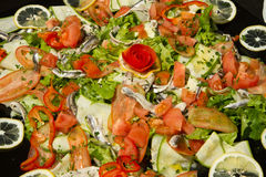 Mixed salad appetizer Stock Photography