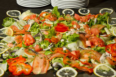 Mixed salad appetizer Royalty Free Stock Image