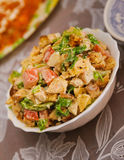 Mixed salad on a blur backgrounds Stock Photography