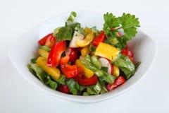 Mixed salad. A mixed salad in a bowl Royalty Free Stock Photography
