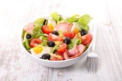 Mixed salad in bowl Royalty Free Stock Photos