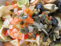 Mixed salad in a dish Stock Photos