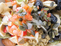 Mixed salad in a dish Royalty Free Stock Photography