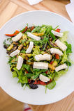 Mixed salad with goat cheese and roasted vegetables Royalty Free Stock Photography