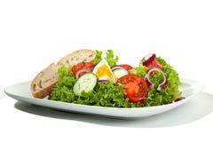 Mixed Salad Plate Royalty Free Stock Photos