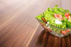 Mixed salad or vegetables Stock Photo