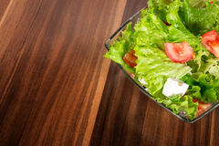 Mixed salat or vegetables Stock Photo