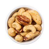 Mixed Salted Nuts Royalty Free Stock Photography