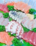 Mixed sashimi Stock Photos