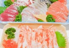 Mixed sashimi Stock Image
