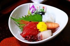 Mixed sashimi Stock Photo
