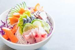 Mixed sashimi set Stock Images