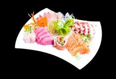Mixed sashimi Royalty Free Stock Image
