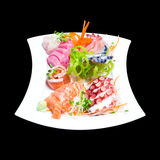Mixed sashimi Stock Photography