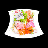 Mixed sashimi Stock Photo