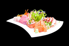 Mixed sashimi Royalty Free Stock Photos