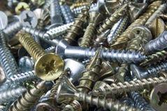Mixed screws Stock Photography