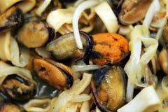 Mixed sea food Royalty Free Stock Photo