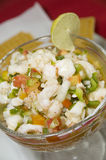 Mixed seafood ceviche Nicaragua Royalty Free Stock Image