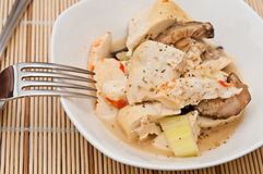 Mixed seafood cuisine Stock Photos