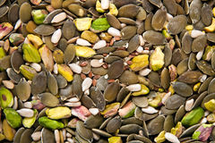 MIxed seeds Stock Image