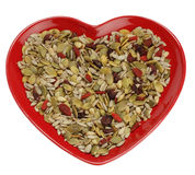 Mixed seeds cereal for healthy breakfast Stock Photography