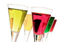 Mixed shots. Colorful mixed shots royalty free stock photography