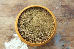 Mixed spice powder Stock Images