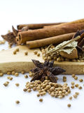Mixed spices Stock Image