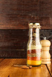 Mixed spices and herb in a bottle Royalty Free Stock Photography