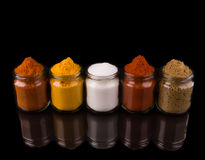Mixed Spices And Salt II Royalty Free Stock Photo