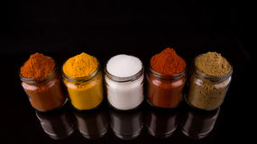 Mixed Spices And Salt III Royalty Free Stock Photo