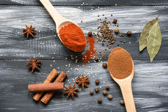 Mixed spices Royalty Free Stock Photography