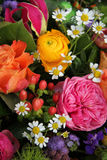Mixed spring bouquet Royalty Free Stock Images