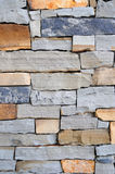 Mixed Stone Wall Background Texture Stock Images