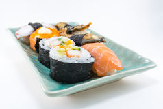 mixed sushi Stock Images