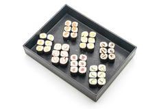 mixed sushi maki - japanese food style Royalty Free Stock Image