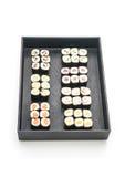 mixed sushi maki - japanese food style Stock Photo