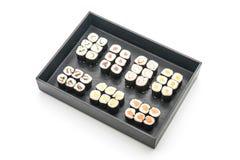 mixed sushi maki - japanese food style Stock Photography