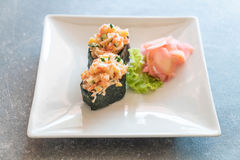 Mixed sushi nigiri Royalty Free Stock Photography
