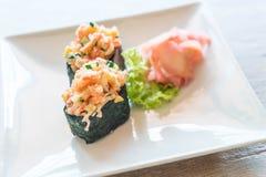 Mixed sushi nigiri Royalty Free Stock Images