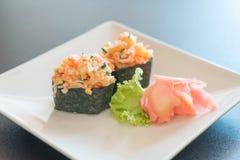Mixed sushi nigiri Stock Photos