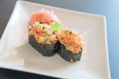 Mixed sushi nigiri Stock Photo