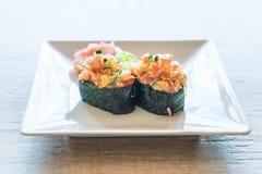 Mixed sushi nigiri Stock Images