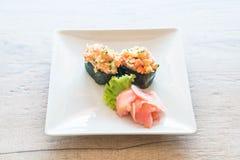 Mixed sushi nigiri Stock Image