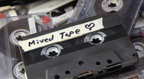 Mixed Tape Stock Photography