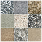 Mixed textures Royalty Free Stock Images