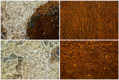 Mixed textures set Royalty Free Stock Image